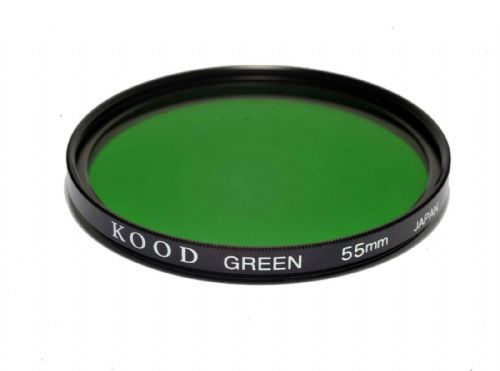 Kood High Quality Optical Glass Green Filter Made in Japan 55mm